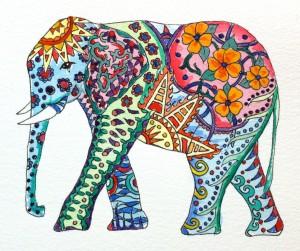 капха слон